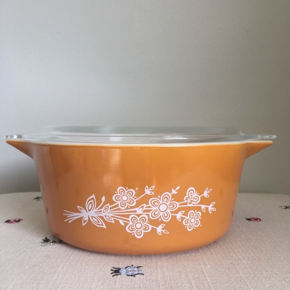 Pyrex Homestead 2 12 Quart Covered Casserole 475 With Matching Lid
